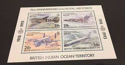 ASCENSION ISLAND - Sc.#140, 80TH ANNIVERSARY OF THE ROYAL AIR FORCE - MIN. SHEET