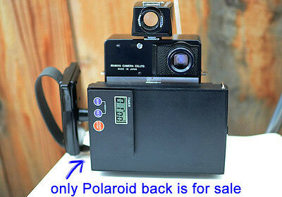 Mamiya Universal Press Polaroid back Genuine Instant Film back w/ digital timer*