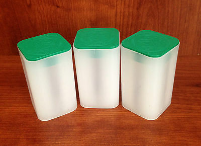 3 US Mint Silver American Eagle Bullion Coin Storage Tubes