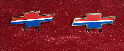 Vintage Chevy Chevrolet Bicentennial Cuff Links Salesman Sample, Dealer Promo ?