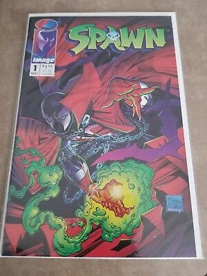 Spawn #1 -- Unread Nm -- New Movie Coming Soon