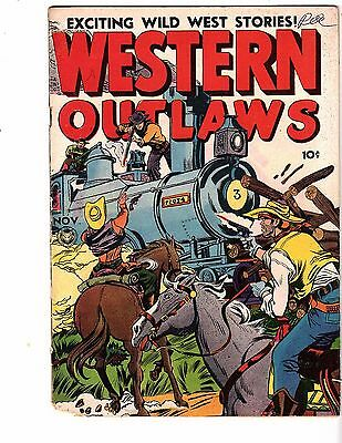 Western Outlaws #18 Fox 1948  Nice Cover & Cond.