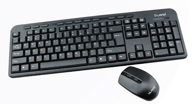 COMBO de TECLADO MULTIMEDIA + RATON USB - INALAMBRICO WIRELESS SIN CABLES