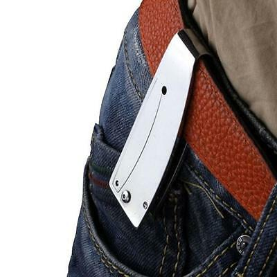 Survival Tool Knife Pocket Fishing Folding Money Clip Rescue Camping Outdoor