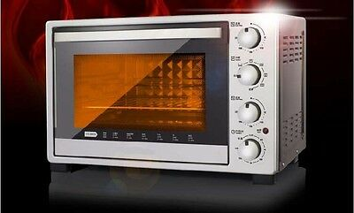 32L Home Commercial Silver Multi-function Baking Tool Benchtop Electric Oven