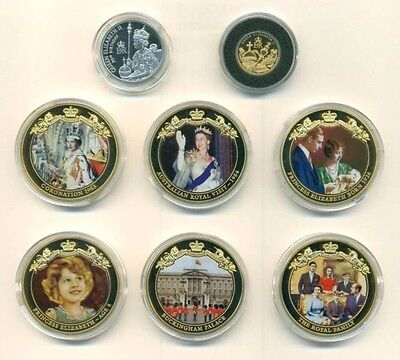 Queen Elizabeth ll Macquarie Mint 8 coin collection set