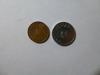 Lot of 2 Different Romania Coins - 2009 and 2011 - Circulated