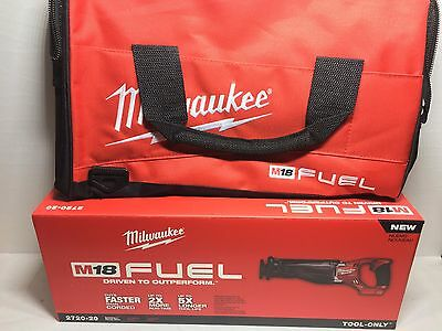 NEW 2720-20 W/ TOOL BAG Milwaukee  M18 FUEL 18V Li-Ion Sawzall Recip Saw