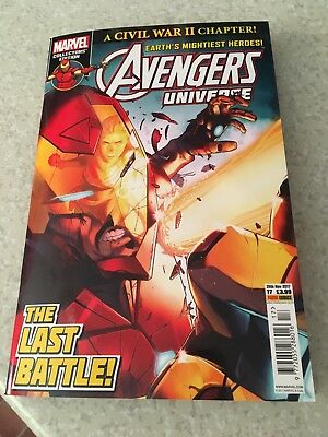 Marvel Collectors Edition Avengers Universe #17