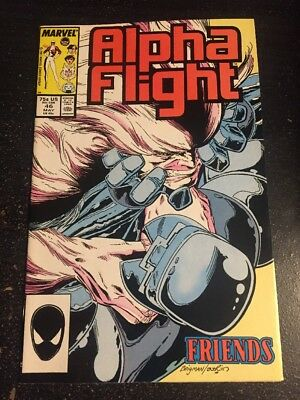Alpha Flight#46 Incredible Condition 9.4(1987) Brigman Art!!