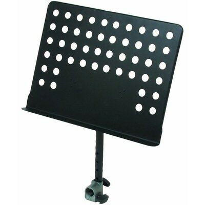 Quik Lok QLX5 Fully-Adjustable Sheet Music Holder for X-Style Keyboard Stands