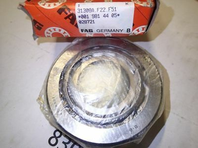 Roulement FAG 31308A 31308 A 40 x 90 x 25.25 mm NOS