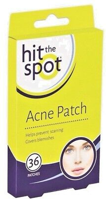 36 Acne Patches - Skin Care Acne Patch Covers Protects Blemishes & Facial Spots