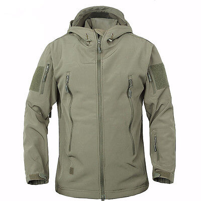 2018 TAD Hunting Outdoor Softshell Military Tactical Jacket Men Waterproof Army