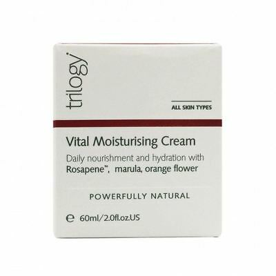 Trilogy Vital Moisturising Cream Powerfully Natural 60ml