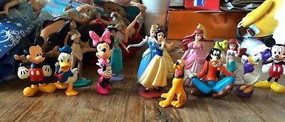 Disney princesses and mickey mousefigure collection Bullyland and disney store