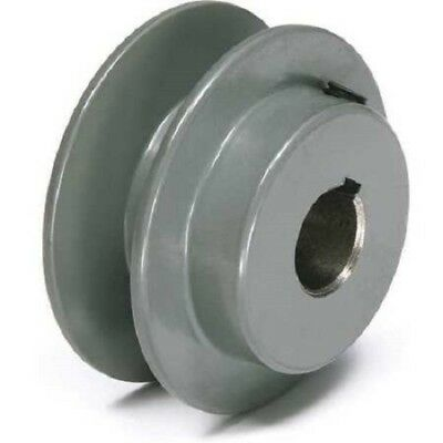 "TB WOODS 7/8"" Fixed Bore 1 Groove V-Belt Pulley 2.55"" OD ***USA SELLER ***AK2578"