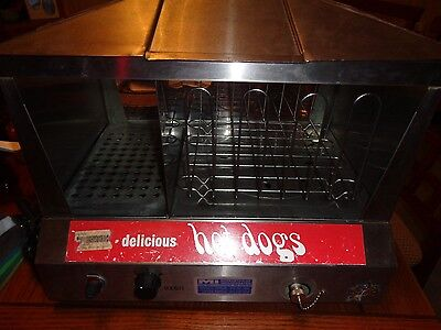 STAR 35SS Commercial HOT DOG STEAMER & BUN WARMER Electric Works Great