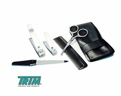 Trim Personal Care 5 pc Set, Nail Clippers, Toenail Clippers, File, Scissors