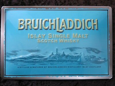 Bruichladdich , Blechschild, Single Islay Malt Whisky Scotland