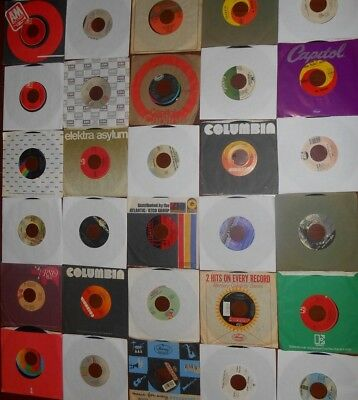 45 RPM Records.  Nice lot of 25. Rock, Pop, Soul, Funk, Country, etc.
