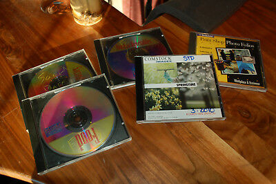Photography Stills royalty free  (Lot of 5 discs-approx 400 images)