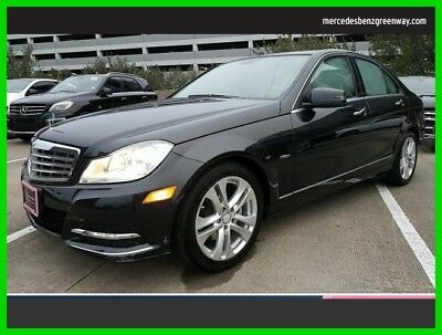 2012 Mercedes-Benz C-Class C 250 Luxury 2012 C 250 Luxury Used Turbo 1.8L I4 16V Automatic Rear Wheel Drive Sedan
