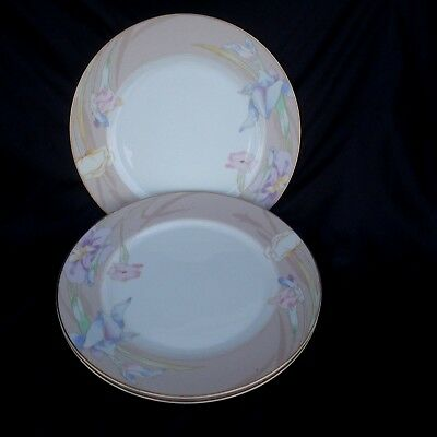 Set of 3 Mikasa Charisma Beige Dinner Plates 10 5/8  in Excellent Condition & MIKASA CHARISMA BLACK 10 5/8