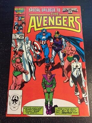 "Avengers#266 Incredible Condition 9.4(1986)""Secret Warsll"" Buscema/Palmer Art!!"