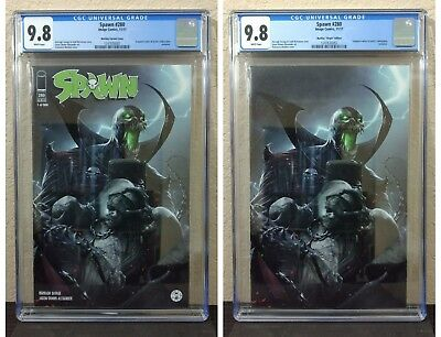 Spawn #280 Mattina LTD 666 CGC 9.8 NM+ Regular & Virgin Variant Set McFarlane