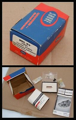 1959 Early Shure M7D Cartridge Box With Hrdw, Mail Card & Instructions