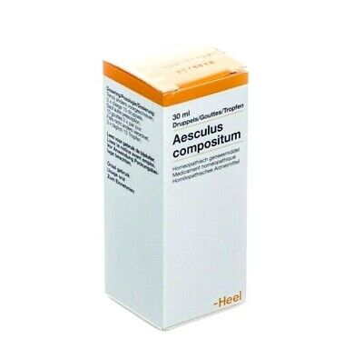 HEEL Aesculus Compositum  (ONLY)  30ml Homeopathic Remedies