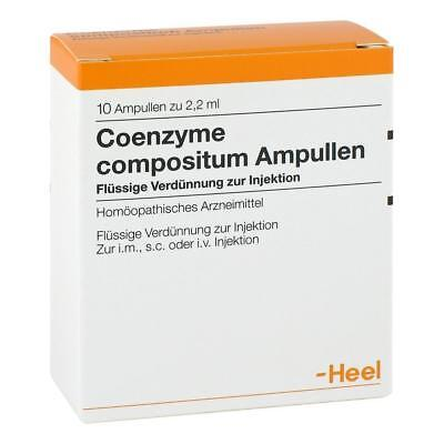 HEEL Co Enzyme Compositum 10 Amps Homeopathic Remedies