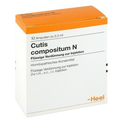 HEEL Cutis Compositum 10 Amps Homeopathic Remedies