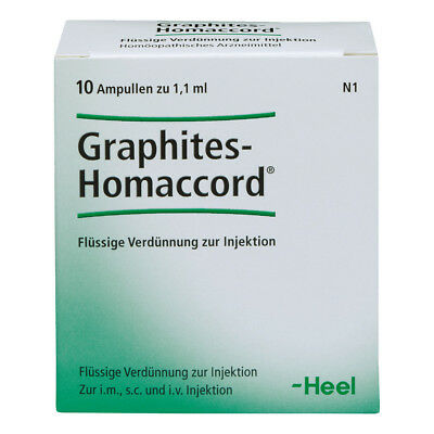 HEEL Graphites Homaccord 10 Amps Homeopathic Remedies