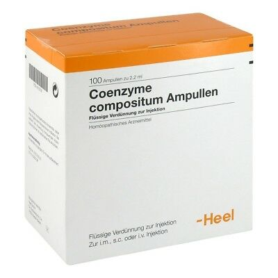 HEEL Co Enzyme Compositum 100 Amps Homeopathic Remedies