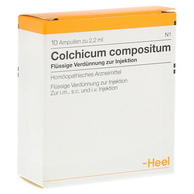 HEEL Colchicum Compositum S 10 Amps Homeopathic Remedies