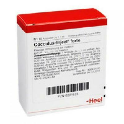HEEL Cocculus Injeel  FORTE  10 amps Homeopathic Remedies
