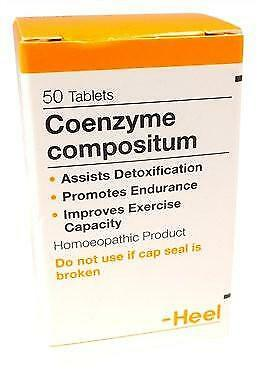 HEEL Co Enzyme Compositum 50 Tablets Homeopathic Remedies