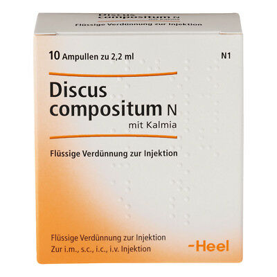 HEEL Discus Compositum 10 Amps (Kalmia) Homeopathic Remedies