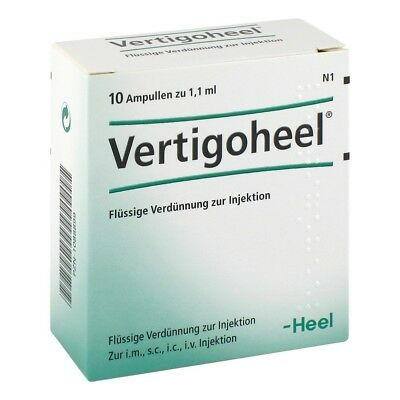 HEEL Vertigoheel 10 Amps Homeopathic Remedies