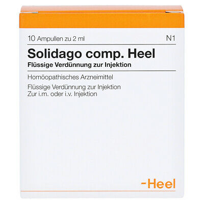 HEEL Solidago Compositum 10 Amps Homeopathic Remedies