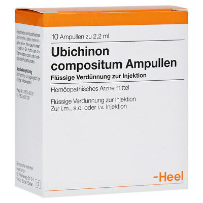 HEEL Ubichinon Compositum 10 Amps Homeopathic Remedies
