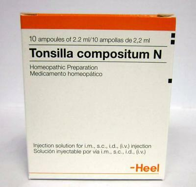 HEEL Tonsilla Compositum 10 Amps Homeopathic Remedies