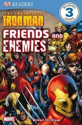 NEW DK Readers The Invincible Iron Man: Friends and Enemies By DK Publishing
