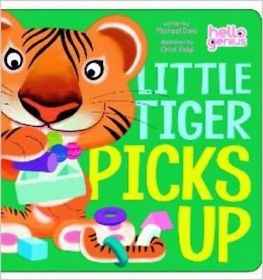 NEW Little Tiger Picks Up By Michael Dahl Board Book Free Shipping