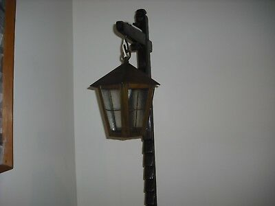 Very Old Wooden Floor Lamp Reduced Last Reduction