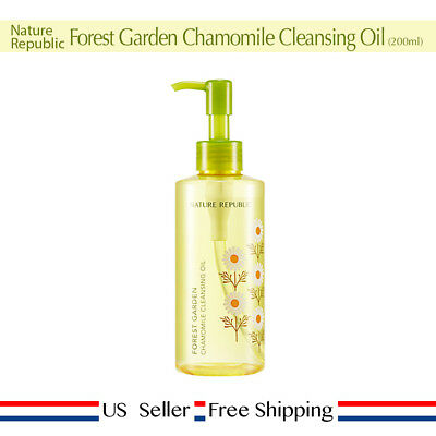 Nature Republic Forest Garden Chamomile Cleansing Oil 200ml + Free Sample [ US ]
