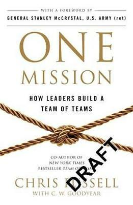 NEW One Mission By Chris Fussell Paperback Free Shipping