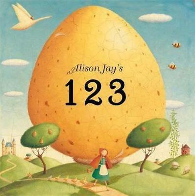NEW Alison Jay's 123 By Alison Jay Board Book Free Shipping